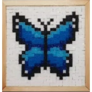 Puzzle Mozaik Hobi seti / Etkinlik Set 17 i-Ölçü (24x24cm)