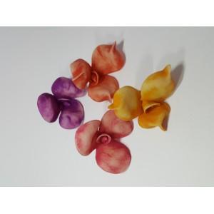 El Yapımı Hamur Seramik Şeftali çiçeği