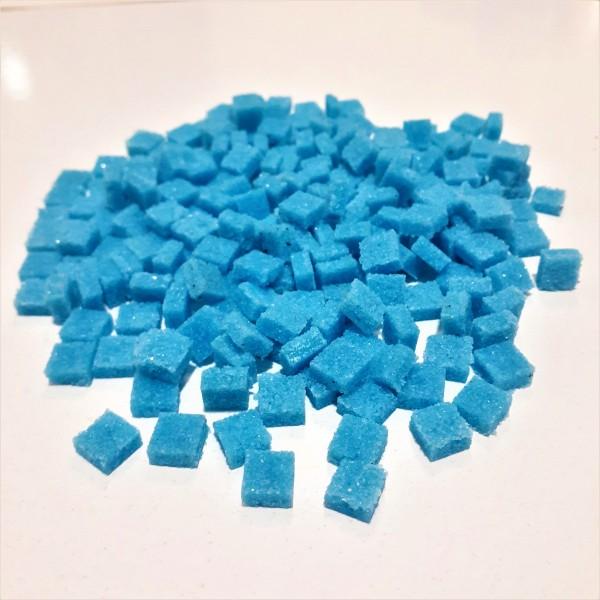 Mozaik Yapay Taşı Mavi - ölçü(0,8x0,8x2,5mm)