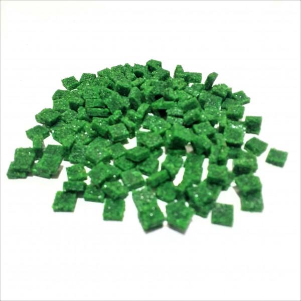 Mozaik Yapay Taşı Yeşil -ölçü(0,8x0,8x2,5mm)