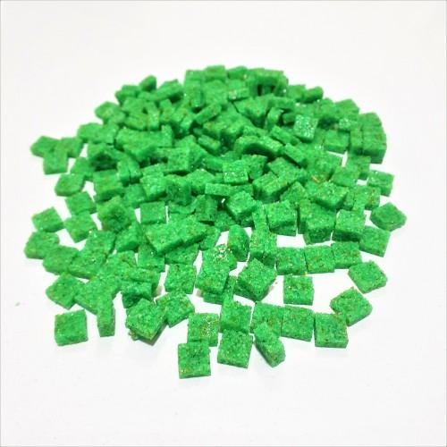 Mozaik Yapay Taşı Açık Yeşil -ölçü(0,8x0,8x2,5mm)