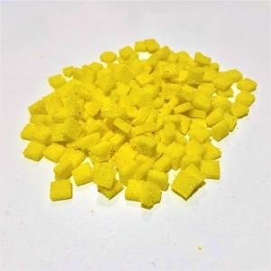 Mozaik Yapay Taşı Sarı - ölçü(0,8x0,8x2,5mm)