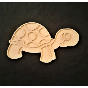Puzzle Mozaik  Kaplumbağa Modeli -Mdf- ölçü (32x18cm)