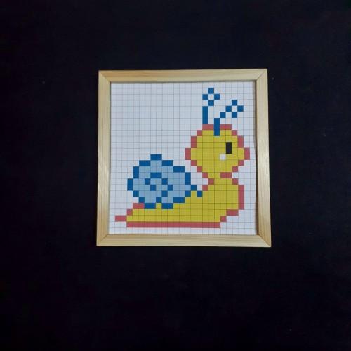 Puzzle Mozaik Hobi seti / Etkinlik Set 12-Ölçü (24x24cm)