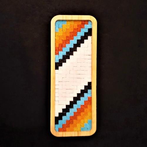 Puzzle Mozaik Hobi seti / Etkinlik Set 4 i-Ölçü (10x25cm)