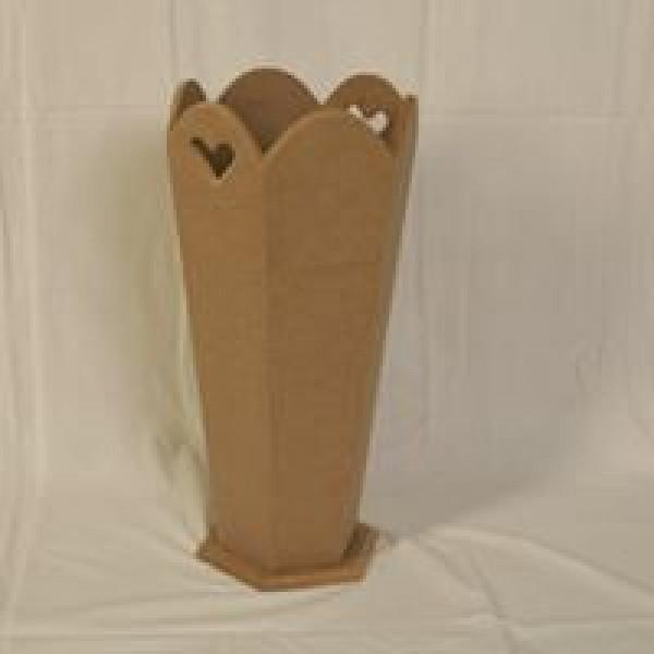 Ahşap  Şemsiyelik  - (48x22x22cm)
