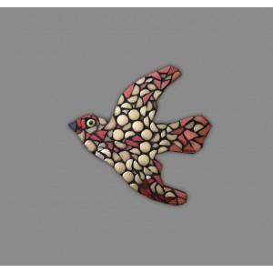 Seramik Mozaik Kuş Tasarımı